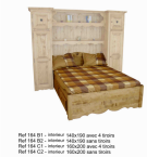 Chamonix pont de lit